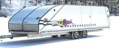 Floe 2016 22' Enclosed Protektor Snowmobile Trailer