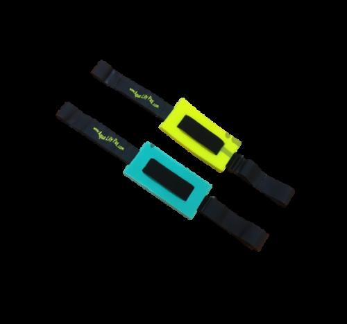 Aqua Lily Pad Aqua Lily Pad Velcro Straps