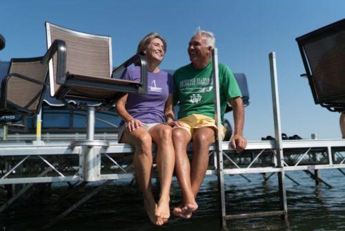 Floe Ladder for Floating Dock 510-41406-00