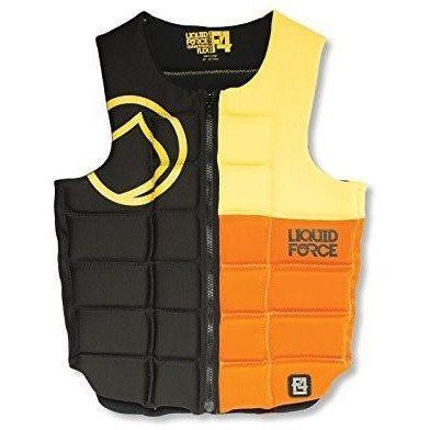 Liquid Force FLEX COMP Vest BLK/YLW/ORG XL