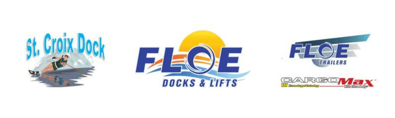 St Croix Dock Floe Dock Floe Boat Lift Trailers Logo