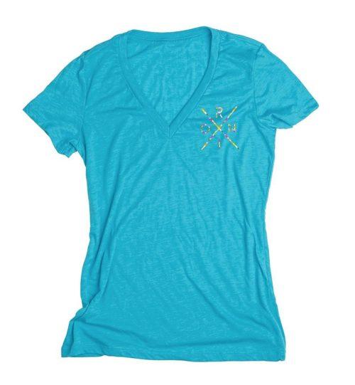 Ronix - Women's 3rd Floor V Neck T Shirt M