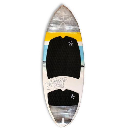 Phase 5 Oogle Wakesurf Board White-Blue
