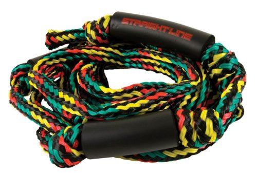 Straight Line Surf Rope DLX Knot Rasta