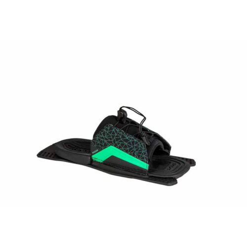 Radar Water Ski Lyric LTD Adjustable Rear Toe - Black / Caribbean Green - Feather Frame (2019)