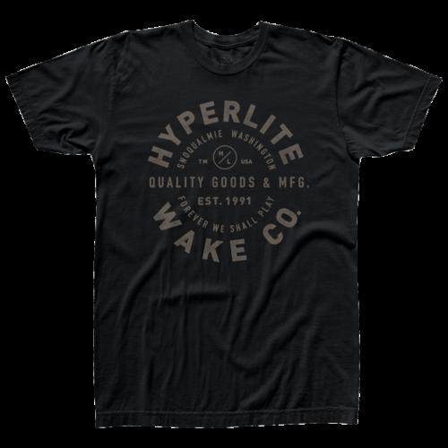 Hyperlite HL Standard T-Shirt Black- XXL (2019)