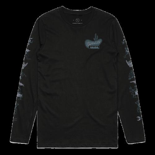 Hyperlite HL Union LS T-Shirt Black - XXL (2019)