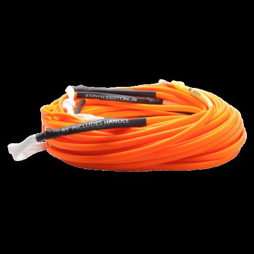 Hyperlite 80' Silicone Orange Flat Line