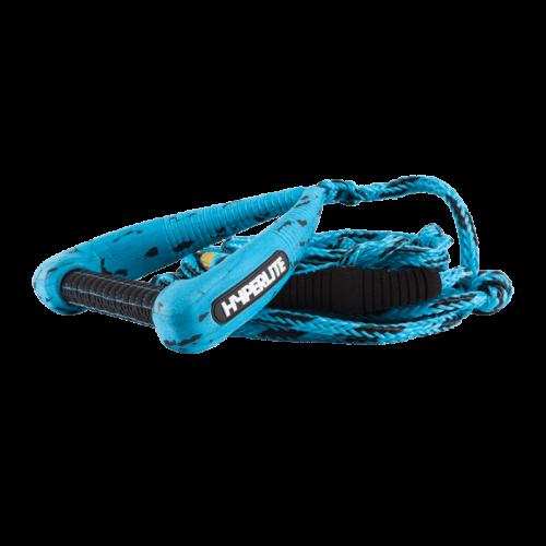 Hyperlite 25' Pro Surf Rope w/Handle Blue