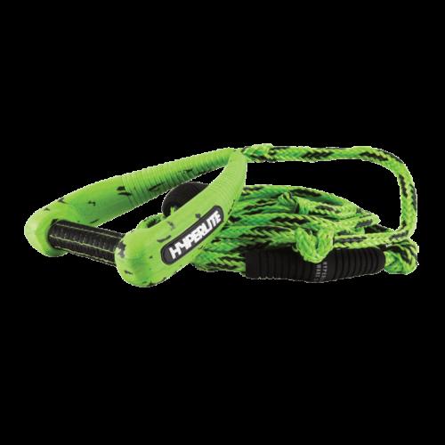 Hyperlite 25' Pro Surf Rope w/Handle Green