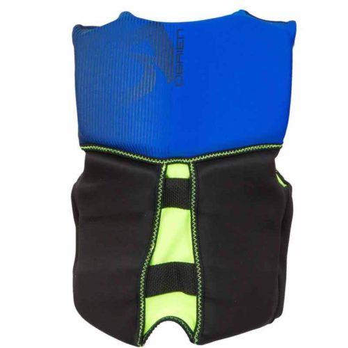 youth vback blue back Blue-(50-75 lbs)
