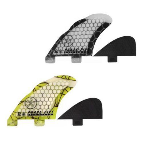 3D dimple technoloy. Curvy rake design. FCS compatible.