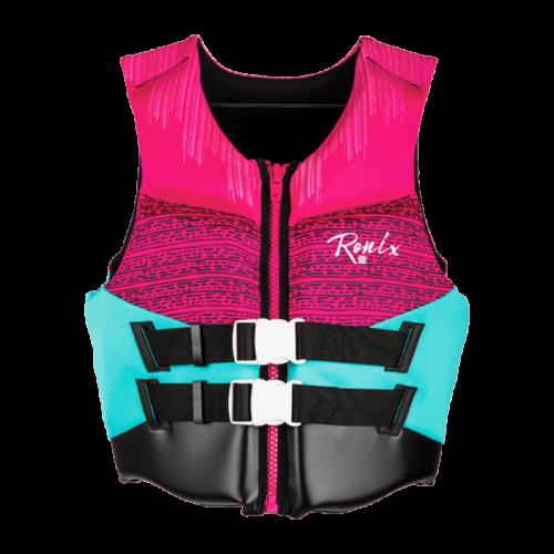 Ronix Daydream Women's - CGA Life Vest - Pink / Turquoise (2020)