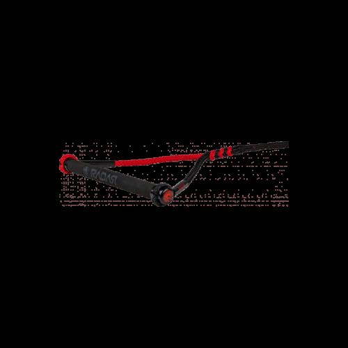 "Radar Vapor - Custom - 13"" Handle - Black / Red"