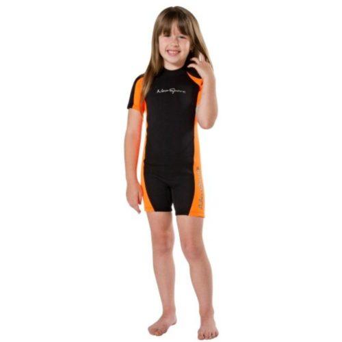 Neosport 2MM Child's Shorty Black/Orange (2020)