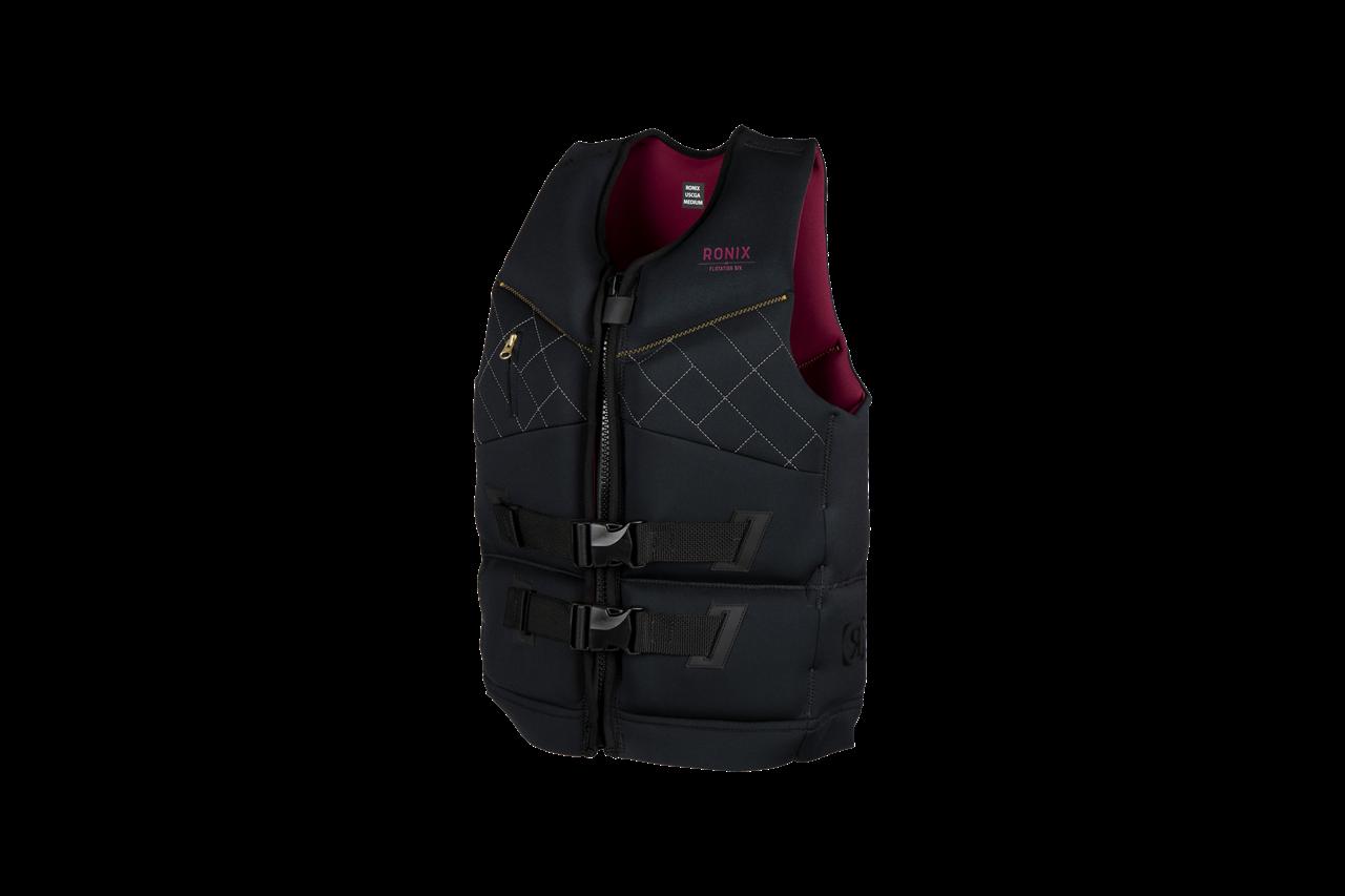 Ronix Supernova Women's Capella 3.0 CGA Life Vest Black / Merlot