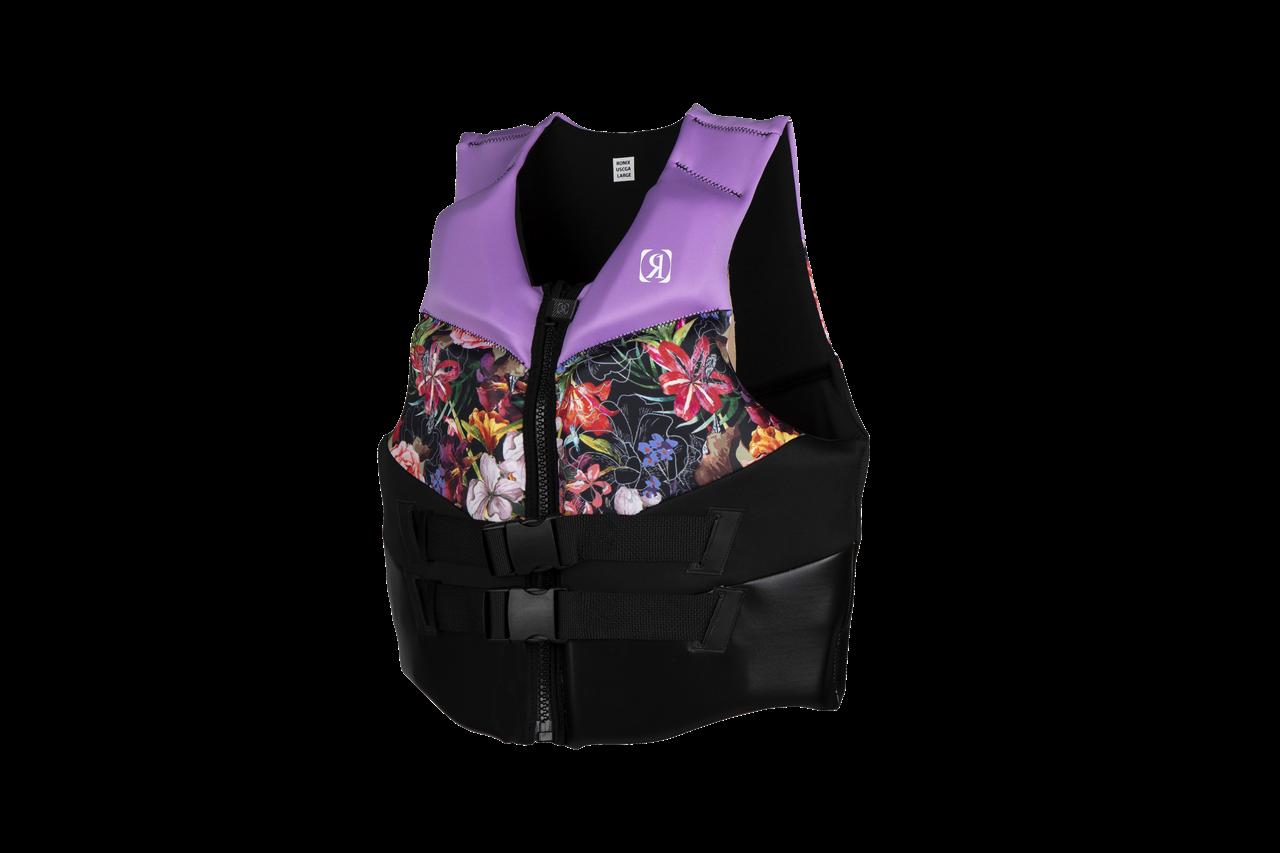Ronix Daydream Women's CGA Life Vest - Lavender / Floral